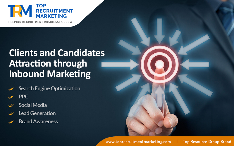Clients and Candidates Attraction Through Inbound Marketing