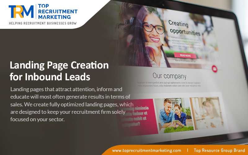 Landing Page Creation For Inbound Leads