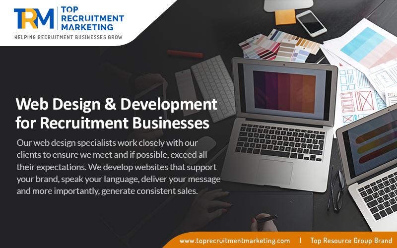 Web Design & Development for Recruitment Businesses